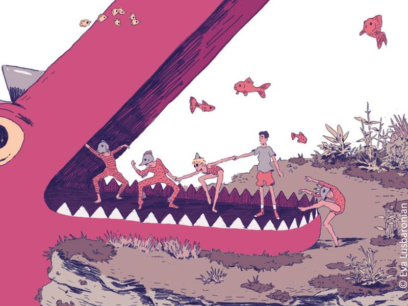 Visuel de couverture du projet d'animation En sortant de l'ecole par l'Incroyable Studio