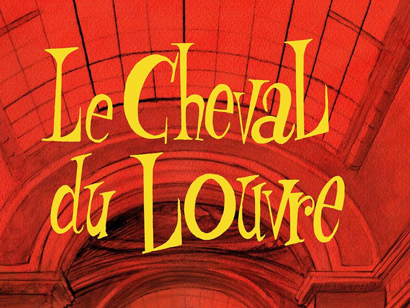 Visuel de couverture du projet d'animation Le cheval du Louvre par L'Incroyable Studio